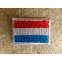 Mini écusson drapeau Luxembourg