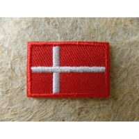 Mini écusson drapeau Danemark