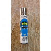 Briquet graffiti bleu
