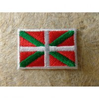 Mini écusson drapeau Basque
