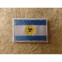 Mini écusson drapeau Argentine
