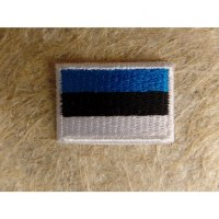 Mini écusson drapeau Estonie