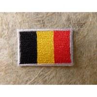 Mini écusson drapeau Belgique