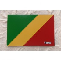 Aimant drapeau Congo
