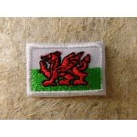 Mini écusson drapeau pays de Galles