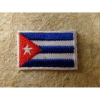 Mini écusson drapeau Cuba