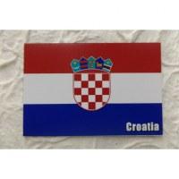 Magnet drapeau Croatie