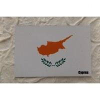 Magnet drapeau Chypre