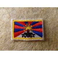 Mini écusson drapeau Tibet