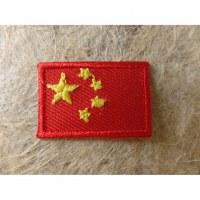Mini écusson drapeau Chine