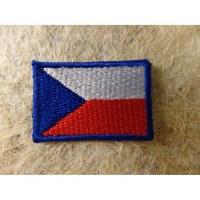 Mini écusson drapeau république Tchèque