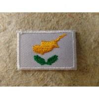 Mini écusson drapeau Chypre