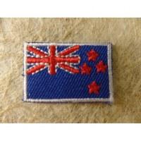 Mini écusson drapeau Nouvelle Zélande