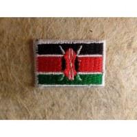Mini écusson drapeau Kenya