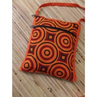 Sac passeport psyké orange