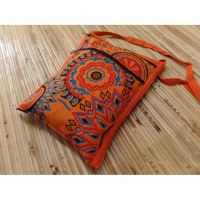 Sac passeport orange peps