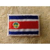 Mini écusson drapeau Costa Rica