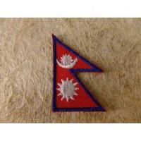 Mini écusson drapeau népalais