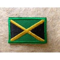 Mini écusson drapeau Jamaïque