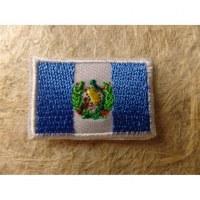Mini écusson drapeau Guatémala