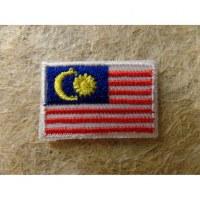 Mini écusson drapeau Malaisie