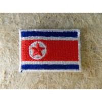 Mini écusson drapeau Corée du Nord