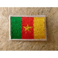 Mini écusson drapeau Cameroun