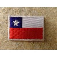 Mini écusson drapeau Chili