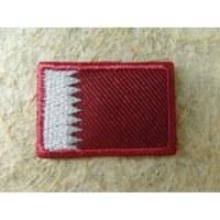 Mini écusson drapeau Qatar