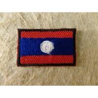 Mini écusson drapeau Laos