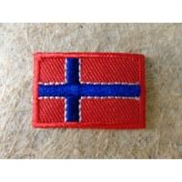 Mini écusson drapeau Norvège