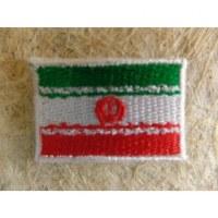 Mini écusson drapeau Iran