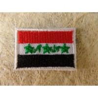 Mini écusson drapeau Irak