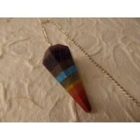 Pendule conique 7 couleurs