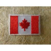 Mini écusson drapeau Canada