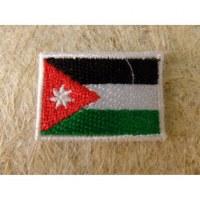 Mini écusson drapeau Jordanie
