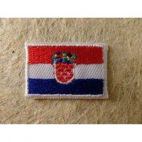 Mini écusson drapeau Croatie