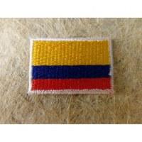 Mini écusson drapeau Colombie