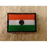 Mini écusson drapeau Inde