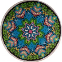 Nappe ronde mandala color